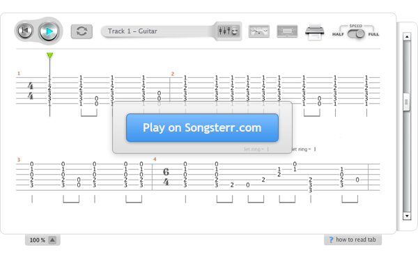 how to print songsterr tabs for free